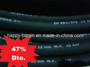 3te Three Ply Textile Braid Hydraulic Hose pictures & photos
