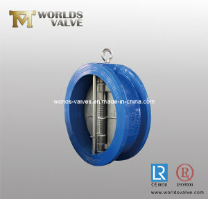 Dual Plate Wafer Check Valve with CE ISO Wras (H77X-10/16) pictures & photos