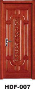 Wood Door (HDF-007) pictures & photos