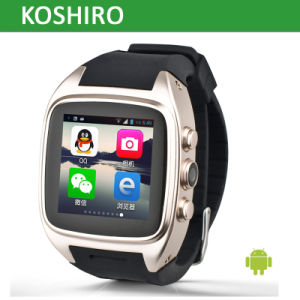 Bluetooth Digital Sport Mobile Phone Smart Wrist Watch pictures & photos