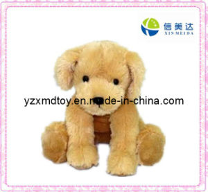 Plush Sitting Dog Soft Baby Toy pictures & photos