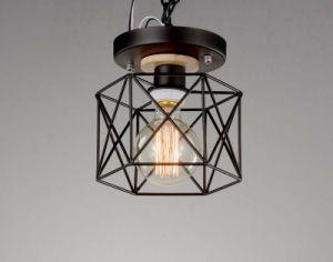 Black Big Bulb Edison Ceiling Lighting Lamp