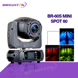 Super Mini 60W Moving Head Spot Stage Equipmet Light for DJ Party pictures & photos