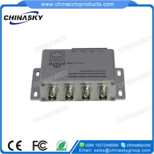 4 CH BNC to RJ45 CCTV Video Balun Cat5 (VB204) pictures & photos