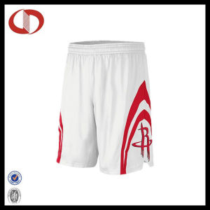 100% Polyester Custom Mans Basketball Shorts Design pictures & photos