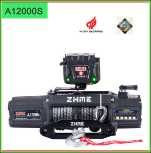 12000lbs Ce Cetificated Waterproof Electric Winch pictures & photos