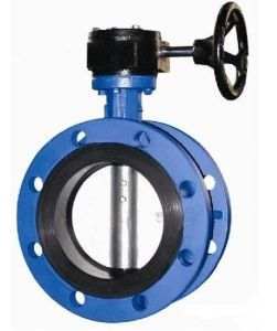 Flanged Concentric Butterfly Valve with Gear Operator pictures & photos