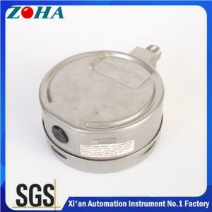 High Quality All Stainless Steel Pressure Gauge Filled with Silicone Oil pictures & photos