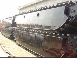 Hydraulic Undercarriage Pontoon for Amphibious Excavator pictures & photos