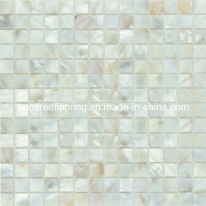 White Shell Mosaic Mother of Pearl Tile (HMP67) pictures & photos