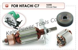 Power Tool Parts (Armatures, Stators, Gear Sets for Power Tools Hitachi C7) pictures & photos