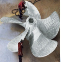 5500mm Four Blade Stainless Steel Marine Boat Propeller