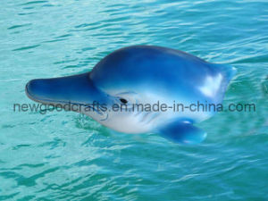 Resin Dolphin Floating Decoration (STW8678)