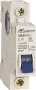 mm5 (C45) -High Breaking Mini Circuit Breaker MCB Manufacturer pictures & photos