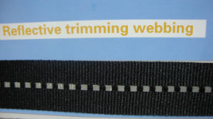 Reflective Trimming Webbing pictures & photos
