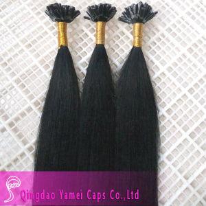 Alibaba China Straight Virgin Brazilian Human Hair Nail Tip Hair Extensions Made in China (YM-W-080)