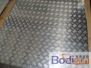 Aluminum Checkered Plate 3105 pictures & photos