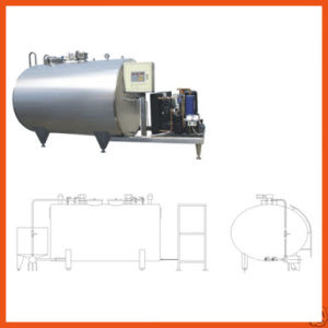 Horizontal Direct Milk Cooling Tank pictures & photos