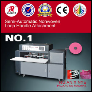 Non Woven Fabrics Handle Bag Making Machine pictures & photos