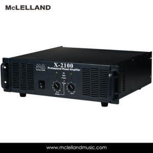 Power Amplifier with 2channel (X-2100) pictures & photos