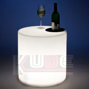 Illuminated Round Stools Glowing Furniture LED Glowing Stools pictures & photos