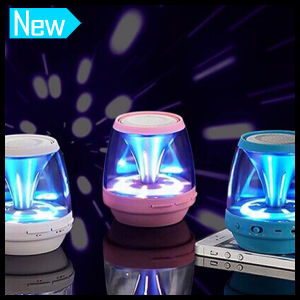 Mini Wireless MP3 Phone Handsfree with LED Magic Light Sound Box Bluetooth Speaker pictures & photos