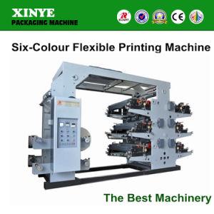 Ruian Xinye Six Colour Flexo Printing Machine pictures & photos