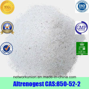 Progesterone Estrogen Hormones Powder Altrenogest CAS 850-52-2 pictures & photos
