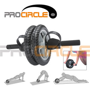 Hand Foot Grips Fitness Ab Power Wheel (PC-AW5006) pictures & photos