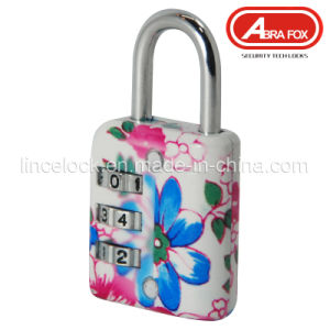 Zinc Alloy Colour Heat Plated Design Combination Padlock (802-1) pictures & photos