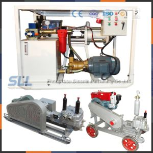 High Pressure Double Hydraulic Grouting Pump for Slurry Pumping pictures & photos