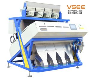 Full Color Rice Color Sorter 5000+Pixel RGB Color Sorter National Patent Ejector pictures & photos