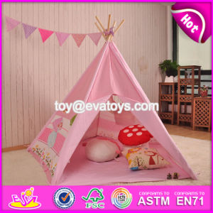 Indoor or Outdoor Play Tent for Kids Fun Indian Pink Cotton Tent for Kids W08L004 pictures & photos