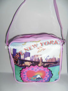 PVC/PU Girls Single Shoulder School Bags (MS8021) pictures & photos