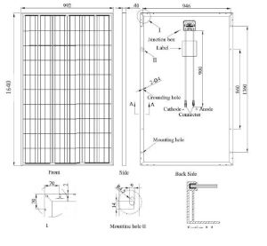 Pid Free Poly Solar Panel 250W German Quality pictures & photos