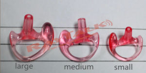 Rubber Ear Mold for Police Earpiece pictures & photos