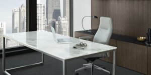 Stylish White Computer Desk Computer Table pictures & photos