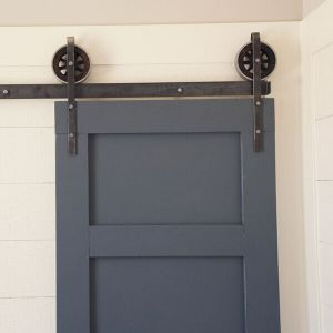 Easy Operation and Space Saving Wardrobe Sliding Barn Door Hardware pictures & photos