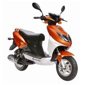 Gas Scooter (YL50QT-21D) pictures & photos