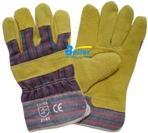 Cow Split Leather 88 Style Work Gloves (BGCL205)