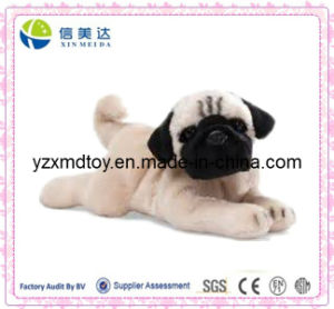 Lifelike Cute Pug Plush Dog Toy pictures & photos