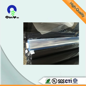 Blue Tint Normal Clear Flexible PVC Film for Package Bag pictures & photos