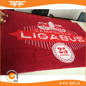 100% Cotton Terry Beach Towel with Reactive Printing (DPF1098) pictures & photos