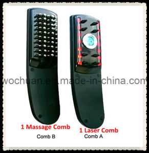 CE Approved Hair Max Laser Combs, Laser&Vibration Massage Combs (W-611)