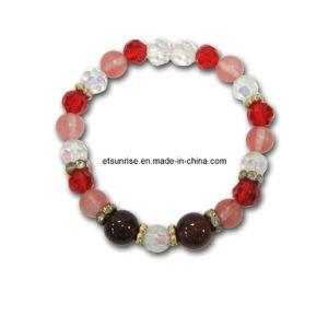 Crystal Bracelet, Semi Precious Stone Bracelet, Fashion Beaded Jewelry Bracelet Bangles (ESB01289) pictures & photos