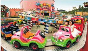 Mantong Hot Sale Amusement Machine Climbing Car for Outdoor pictures & photos