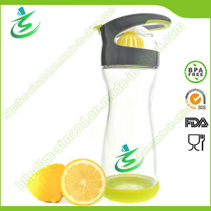 Full Circle Wherever Water Lemon Water on-The-Go Glass Bottle pictures & photos