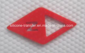 Eye-Catching Silicone Label for T-Shirt, Hats, Shoes, Bags