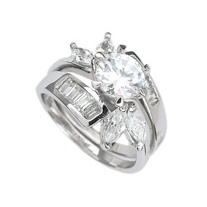 925 Silver Ring (CH-124)