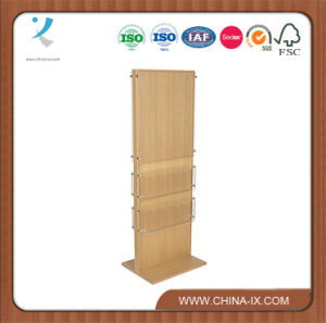 Customized Double Sided 20 Pockets Poster Stand with Acrylic Panel pictures & photos